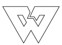 White ribbon logo